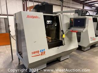 Bridgeport Torq-Cut 22 CNC Mill Vertical Machining Center