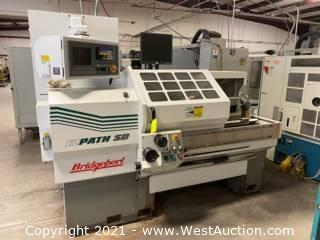 2001 Bridgeport Romi EZ Path SD CNC Lathe