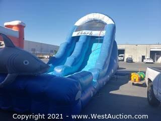 Sharkys Revenge 18' Water Slide