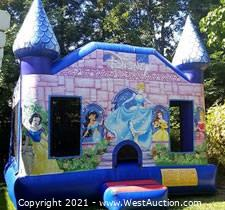 Licensed Disney Princess Bounce House