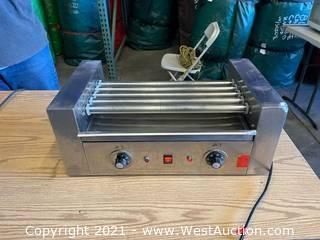 Hot Dog Roller Cooker