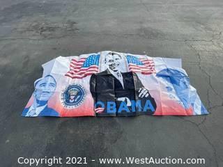 President Obama Art Panel for Bounce House