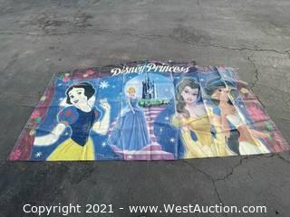 Princess Art Panel Banner for Bounce House