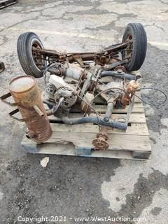 Pallet of Harley-Davidson Golf Cart Parts
