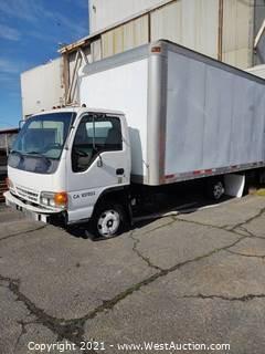 2000 Isuzu Box Truck (Parts Only)