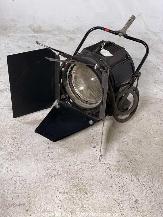 SAS Movie Studios Surplus Equipment Auction