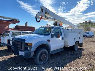 2009 Ford F-550 XL Super Duty V8 With Boom Attachment