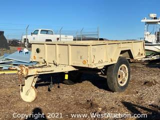 1968 6'x9' Military Grade Cargo Trailer