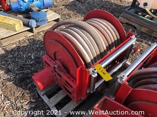 Firehose And Motorized Reel