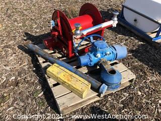 Motorized Hose Reel and Pipe Turner