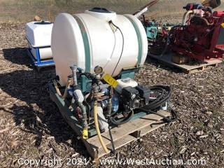 Sprayer Tank With Pump