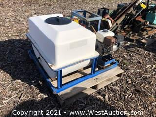 Sprayer Tank With Pump Attachment