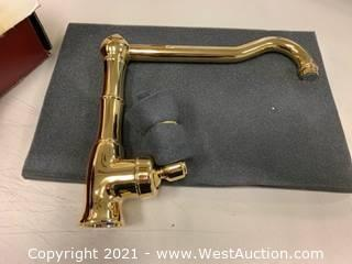 Rohl A3650/11LPIB-2 Inca Brass Single Handle Kitchen Faucet