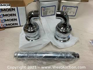 (6) Moen YB4708CH Chrome Toilet Paper Holder