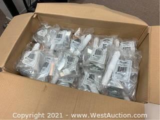 QTY 30 - Moen Donner P5080 Chrome Toilet Paper Holders