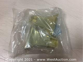 QTY 97 - Moen Donner P5100PB Polished Brass TP Holder Brackets
