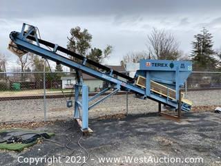 Terex SS842 Square Shoot Conveyor Machine
