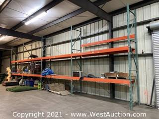 (4) Sections Of 14' Pallet Racking