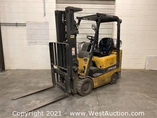 Caterpillar GC18K 3,500 Lb Forklift