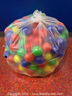 Yellow , Red, Blue, Green Plastic Ball Pit Balls