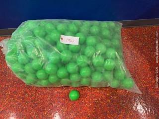 Green Plastic Ball Pit Balls