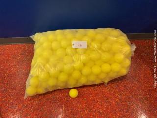 Yellow Plastic Ball Pit Balls