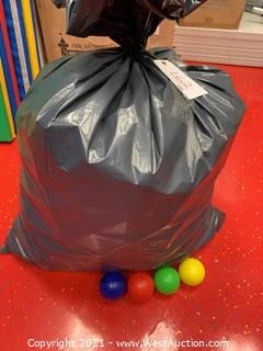 Assorted Color Plastic Ball Pit Balls