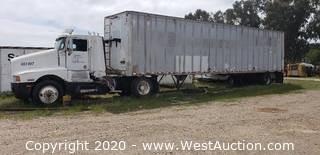 1990 Kenworth Truck (registered junk) and 1981 Hobbs Trailer