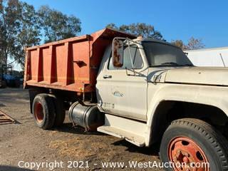 1979 Ford F-600 Dump Truck (for parts)
