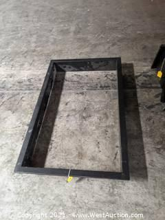 "Window Front Frame Only 56 3/4""x34 1/4"""