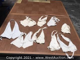 Tuxedos: 9 Misc White - Creme Formal Wear Pique Vestees (mostly older vintage)