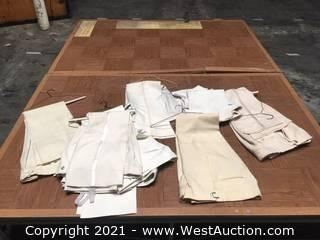 Tuxedos: 9 Misc Creme  shades Formal Wear Pants only, misc gimp or satin trims