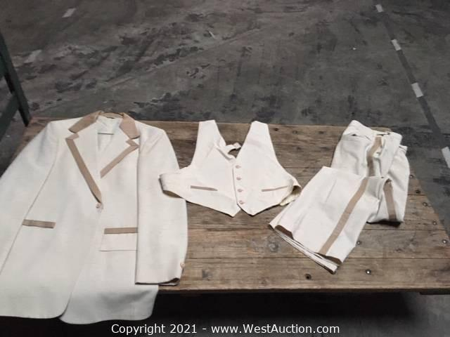 Post Auction for Liquidation of Movie Theater Equipment, Tuxedos, and More