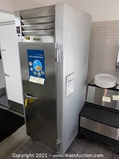 """Traulsen G12010 30"""" G Series Solid Door Reach in Freezer with Right Hinged Door"""