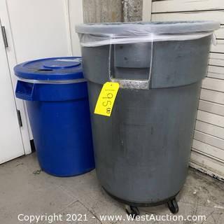 (2) Waste Bins