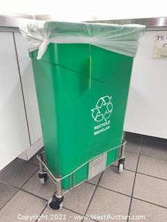 Recycle Bin & Bin Cart