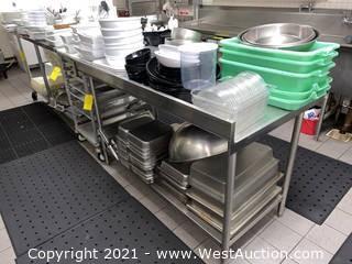 Food Prep and Serving Supplies; Contents of Tabletops