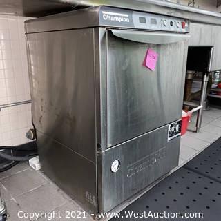 Champion UH200B Commercial Dishwasher