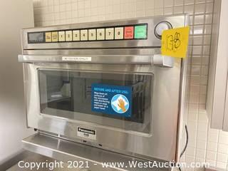 Panasonic Pro 2 NE-2180 Commercial Microwave