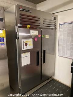 Victory Commercial 2-Door Reach-In Refrigerator