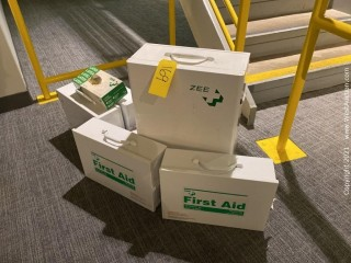 (5) Zee First Aid Cabinets