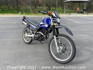 2006 Yamaha XT Motorcycle