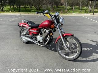 2007 Honda Rebel Motorcycle