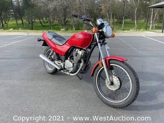 2007 Honda Nighthawk Motorcycle