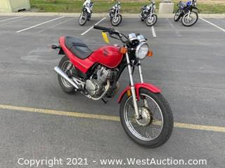2007 Honda Nighthawk Motorcycle