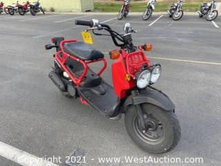 2009 Honda Ruckus Moped