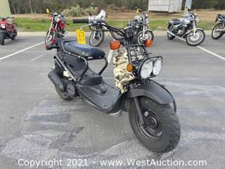 2006 Honda Ruckus Moped