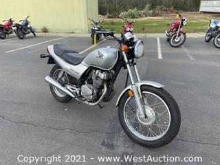 2006 Honda Nighthawk Motorcycle