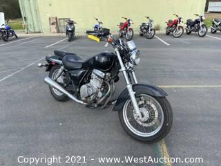 2005 Suzuki GZ 250 Motorcycle