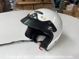 Cyber Motorcycle Helmet (XXL)